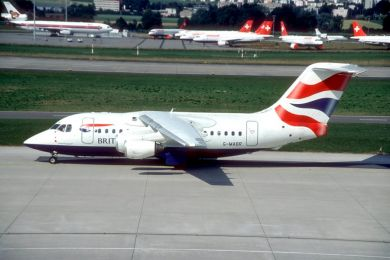 British Airways , 146 , G-MABR
