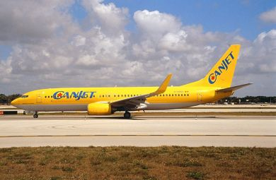 CANJET  737-800  C-GDGZ