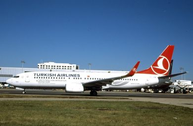 Turkish Airlines  737-800  TC-JFM